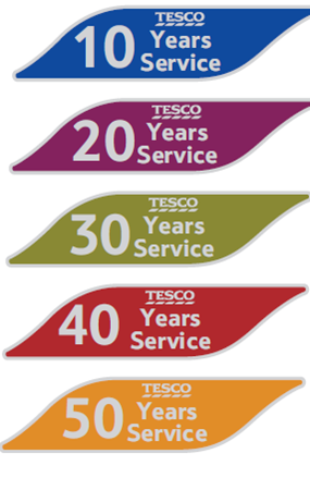 Our new Long Service Awards - Our Tesco