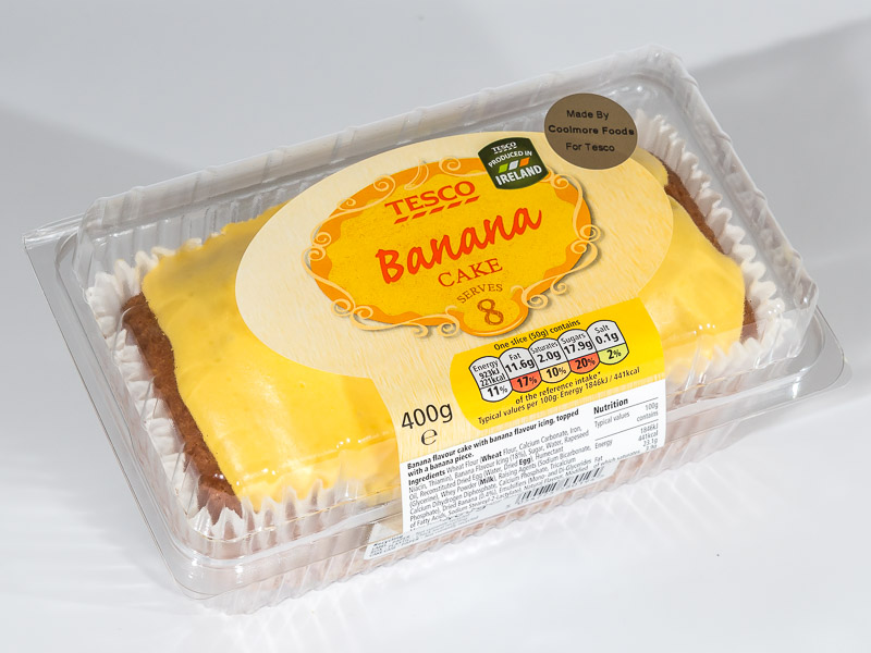 Light Banana Cake